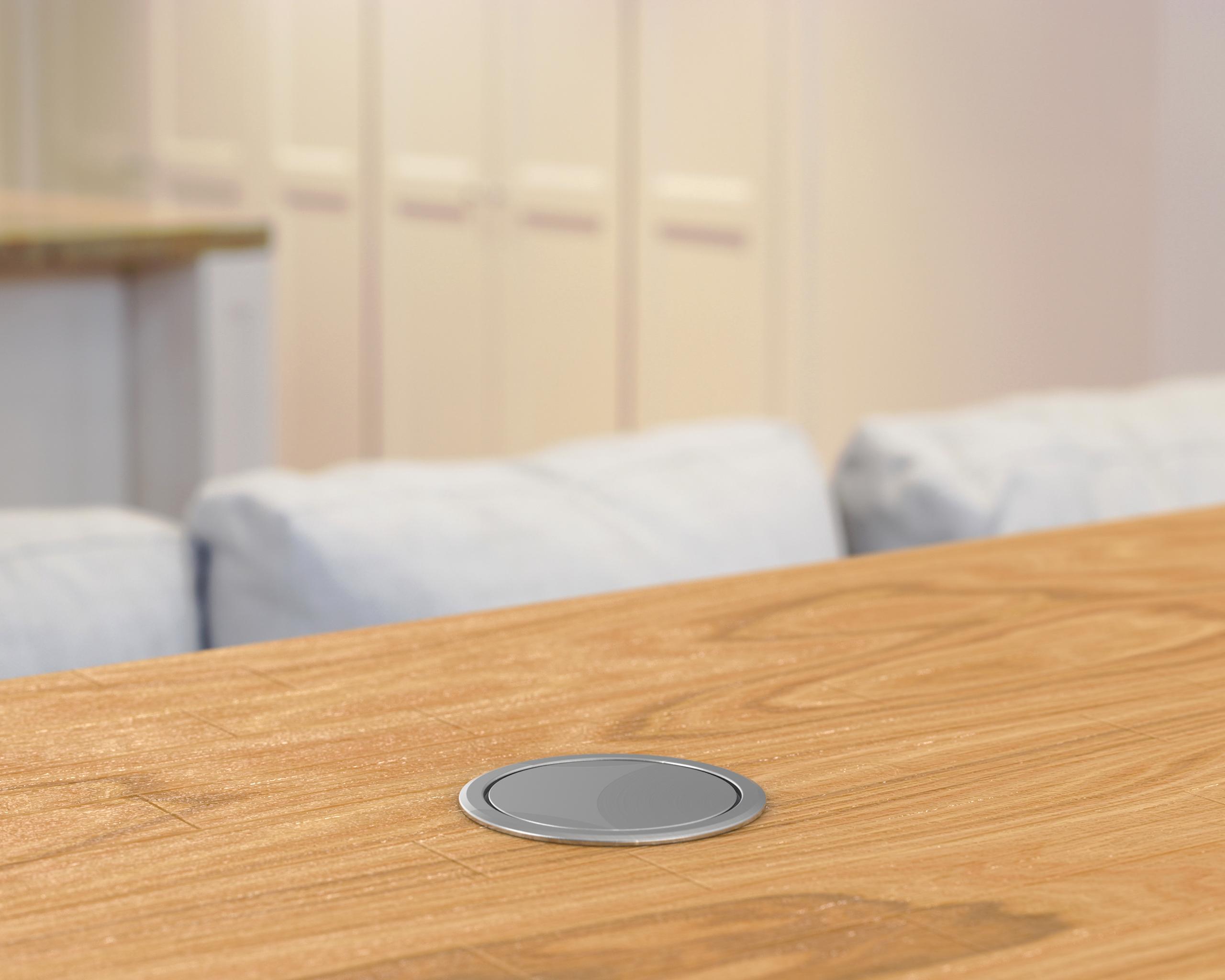 Marvelous V2Gssb Us Stainless Steel Black Pop Up Power Outlet W Usb Inzonedesignstudio Interior Chair Design Inzonedesignstudiocom
